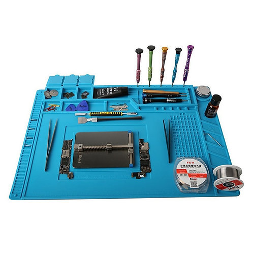 ESD Heat Insulation Working Mat Soldering Station Iron Phone