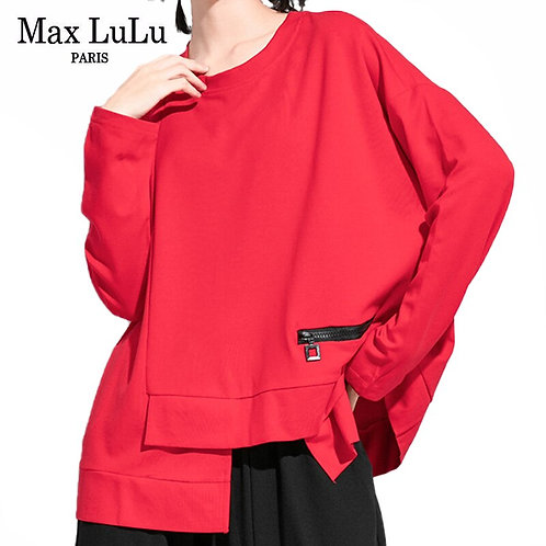 Max LuLu New Autumn Korean Fashion Tops Ladies Loose Long Sleeve
