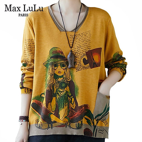 Max LuLu Autumn New 2020 European Style Streetwear Womens