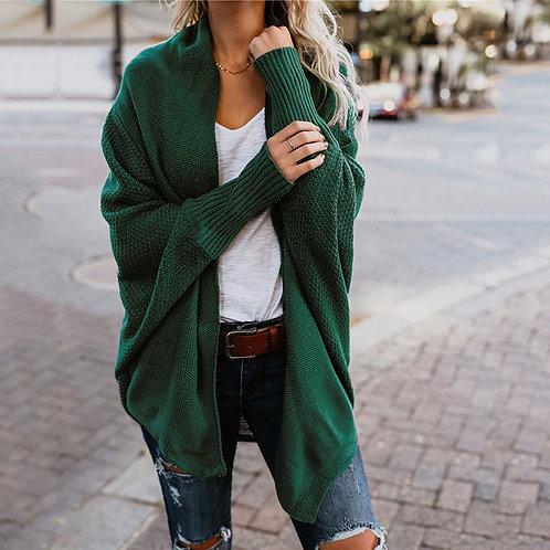 2020 Winter Women Sweaters Casual  Batwing Sleeve Kintted  Autumn Winter Women