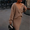 Thumbnail: BerryGo Sexy V-Neck Women Knitted Skirt Suits Autumn Winter