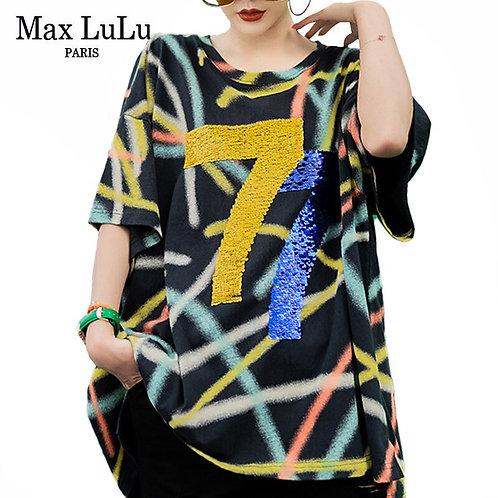 Max LuLu 2020 New Fashion European Designer Tops Ladies Punk
