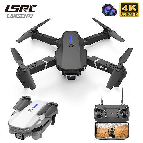 LSRC New RC Drone E525 WIFI FPV and Wide-Angle High-Definition