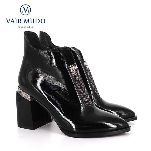 VAIR MUDO 2020 New Brand Chelsea Boots Ankle Shoes Women