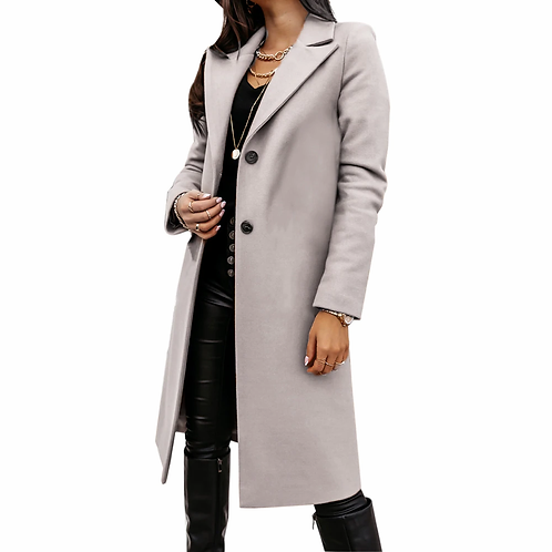 2020 Blends Woolens Overcoat Female Coat Autumn Winter the New Fashion
