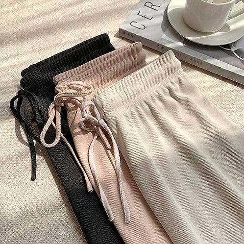 Soft Comfort Women Pants 2020 New High Waist Casual Summer