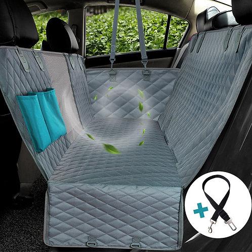 Dog Car Seat Cover View Mesh Waterproof Pet Carrier Car Rear