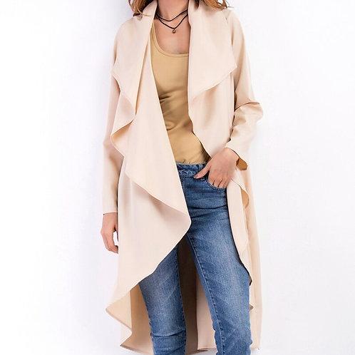 2020 New Autumn Fashion Women Trench Coats Elegant Solid