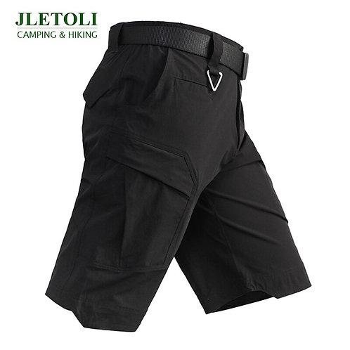 JLETOLI Summer Quick-Drying Hiking Shorts Travel Multi-Pocket