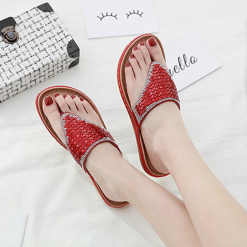 2020 Summer Women Slippers Bling Shoes