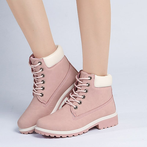 2020 Hot New Autumn Early Winter Shoes Women Flat Heel Boots