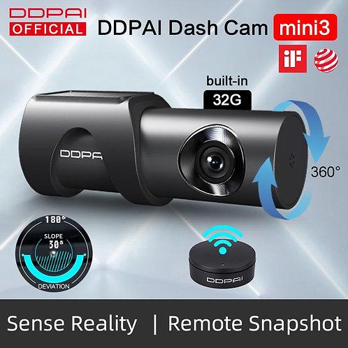 DDPai Dash Cam Mini3 1600P HD Dvr Car Camera Auto Drive