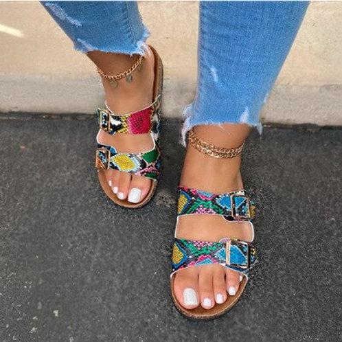 2020 Crystal Outdoor Beach Sandals Summer Women