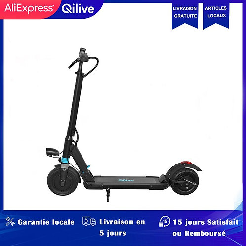 Qilive Electric Scooter Adult Electric Scooters Kick Scooter