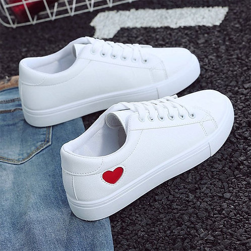 2019 Autumn Woman Shoes Fashion New Woman PU Leather Shoes