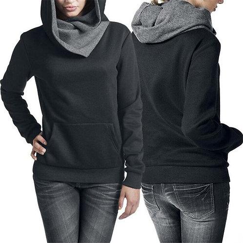 Women Sweatshirts Funny Printed Hoodies Pocket Long Sleeve Pull