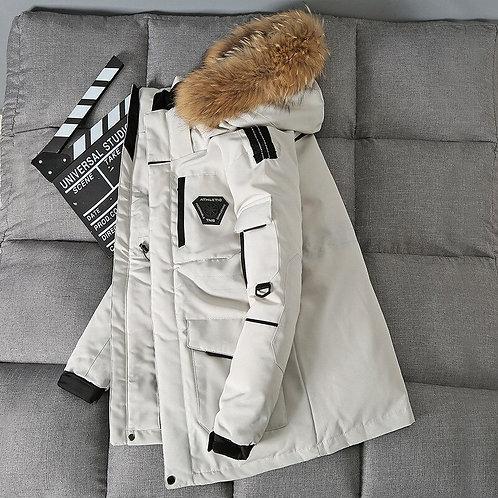 Winter Mens Down Jacket Coat Male, Duck Down Jacket Men