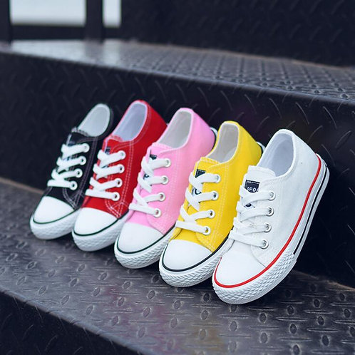Hot Canvas Children Shoes Sport Breathable Boys Sneakers Brand