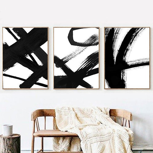 Nordic Abstract Canvas Painting Wall Art Drawing Pictures on the Wall