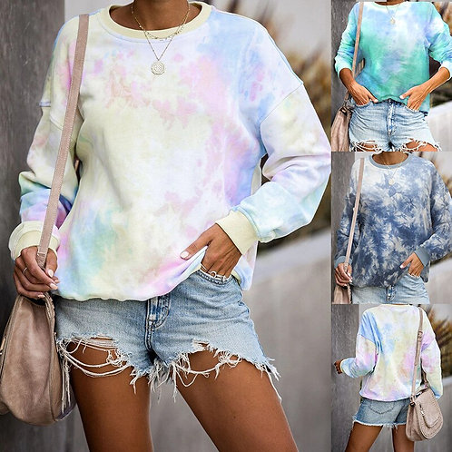 2020 Autumn Womens Hoodies Multicolor Casual Long Sleeve