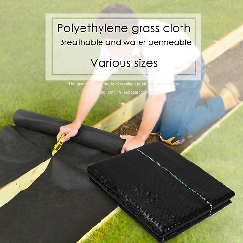 3/5/10m Weed Barrier Fabric Agriculture Greenhouse Garden