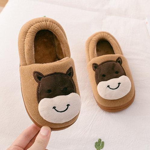 Children Slippers Cute Cartoon Dog Slippers Children Home Slipper