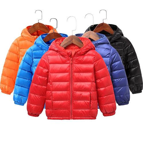 2020 Autumn Winter Hooded Children Down Jackets for Girls