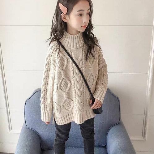 Girls Sweater 2020 New Korean Children's Big Children Loose