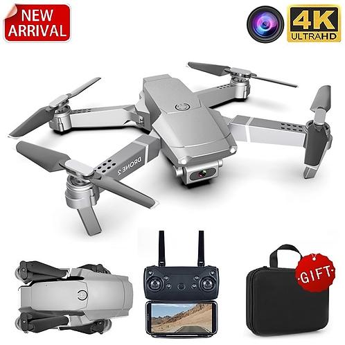 LSRC New E68pro Mini Drone Wide Angle 4K 1080P WiFi FPV
