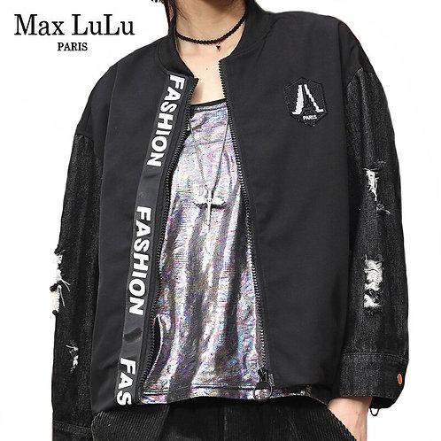 Max LuLu New 2020 Autumn European Luxury Brand Ladies Black