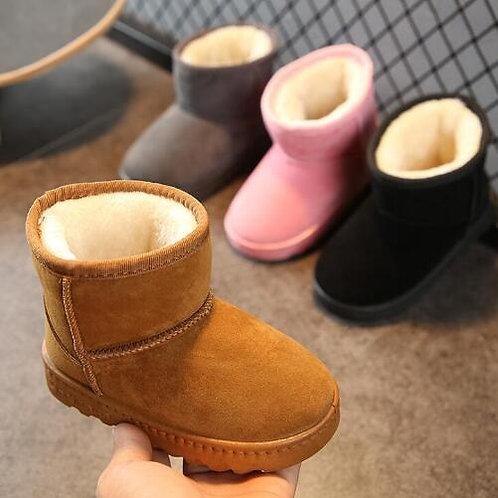 Winter Kids Fashion Snow Boots Thick Child Cotton Shoes