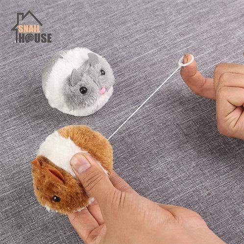 Snailhouse Cute Cat Toys Plush Fur Toy Shake Movement Mouse