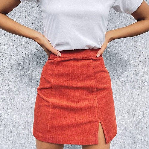 Woman Corduroy Skirt Summer Sexy Mini Vintage Harajuku