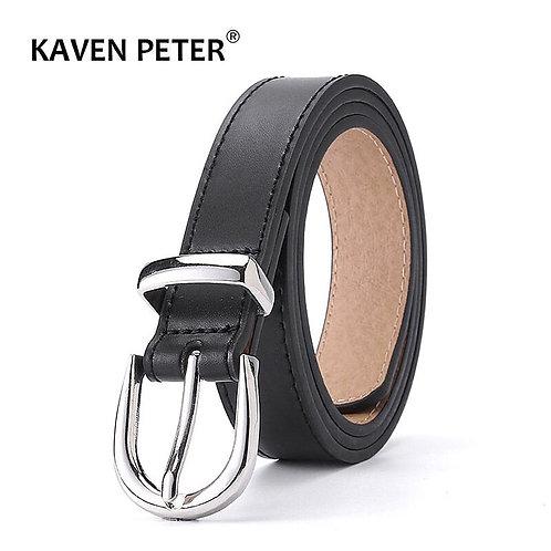Ladies Luxury Brand Belt Designer's Leather High Quality Belt