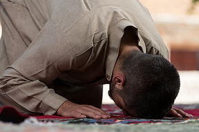 Muslim Man Praying