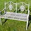Thumbnail: Pretty Metal Garden Bench