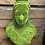 Thumbnail: Large Green Flock Queen Victoria Bust