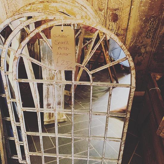 Arched Garden Mirror