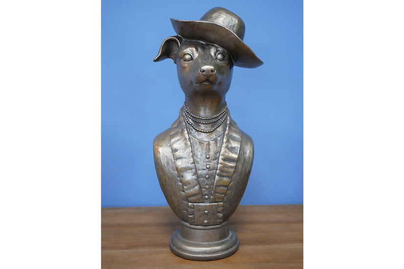 Dapper Dog Bust