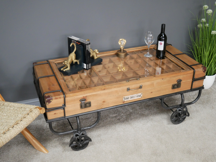 Industrial Urban Style Coffee Table