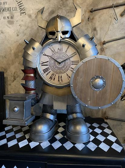 Large Warrior Clock
