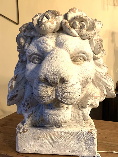 Lion Head Planter