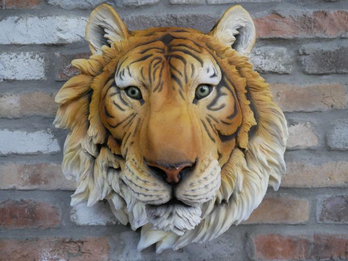 Large Tiger Head
