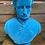Thumbnail: Large Blue Flock Albert Bust