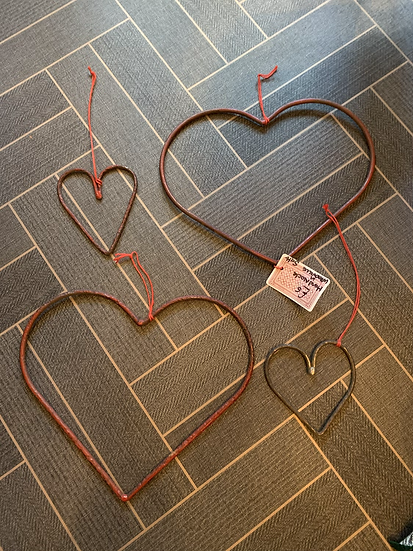 Simple Hand Crafted Metal Heart
