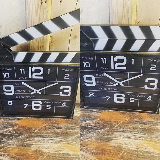 Clapper Board Clock