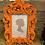Thumbnail: Elegant Orange Flock Baroque Style Frame