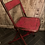 Thumbnail: Vintage Industrial Style Folding Chair