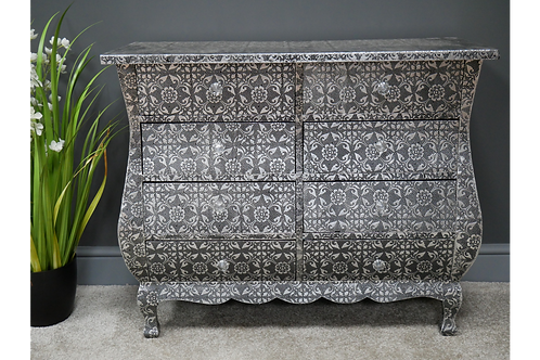 Embossed Chest of Drawers
