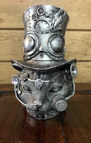 Steampunk Cat Head